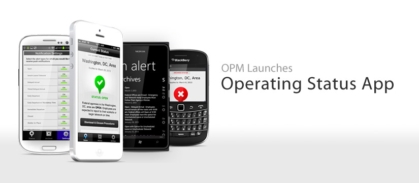 OPM Launches Operating Status App