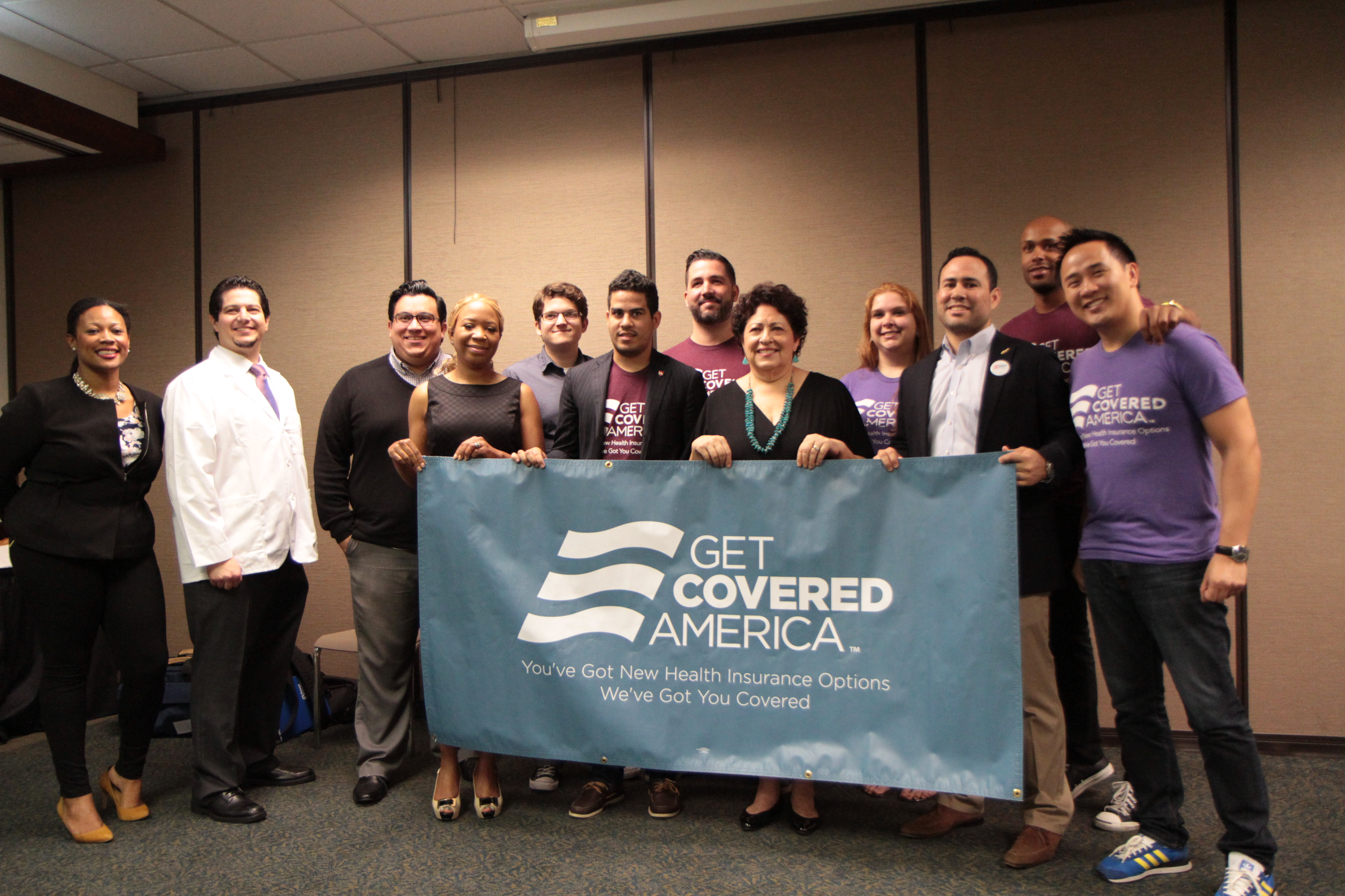 Director Archuleta attends an Affordable Care Act event in Miami