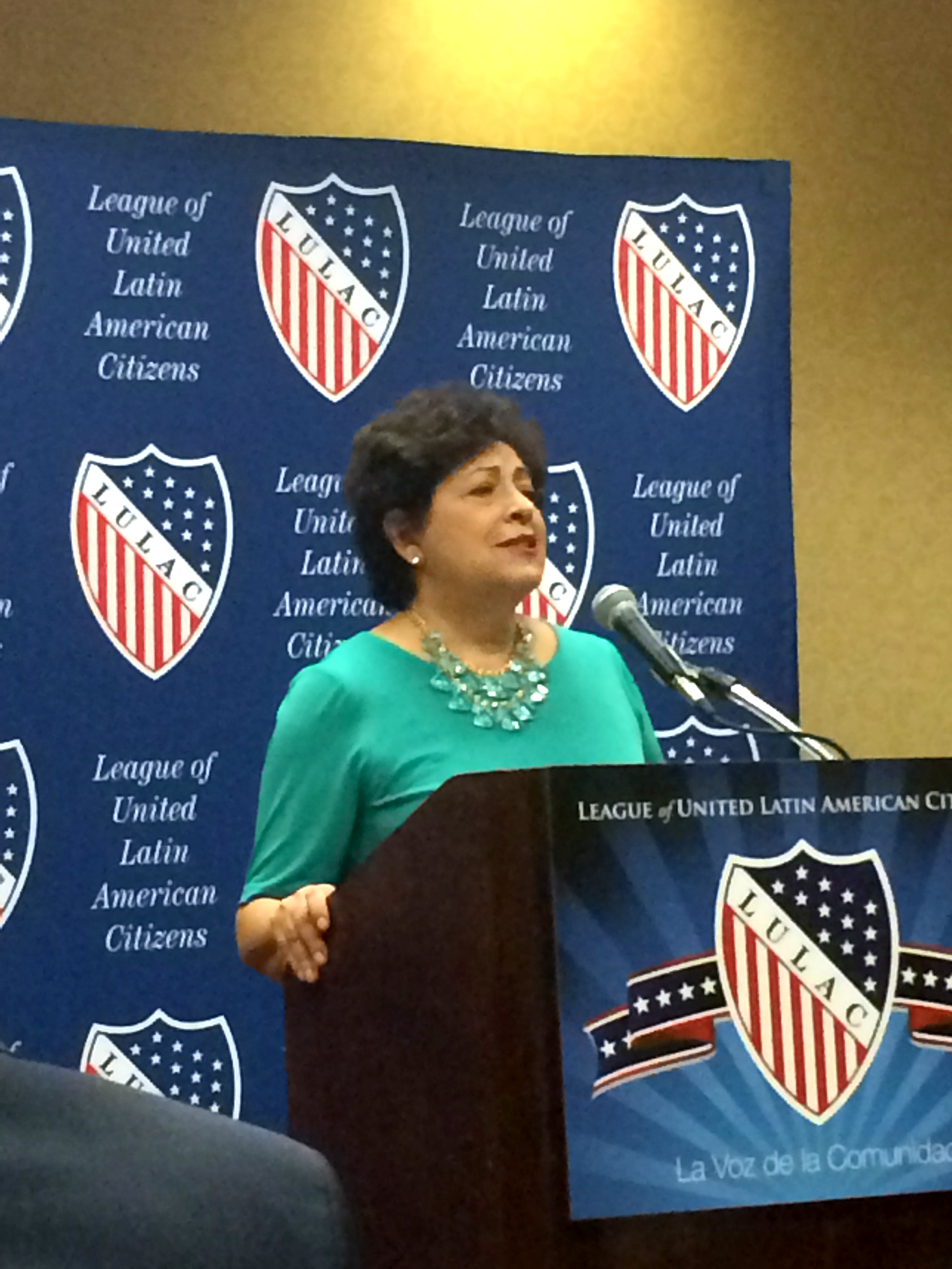 Director Archuleta Speaking at LULAC