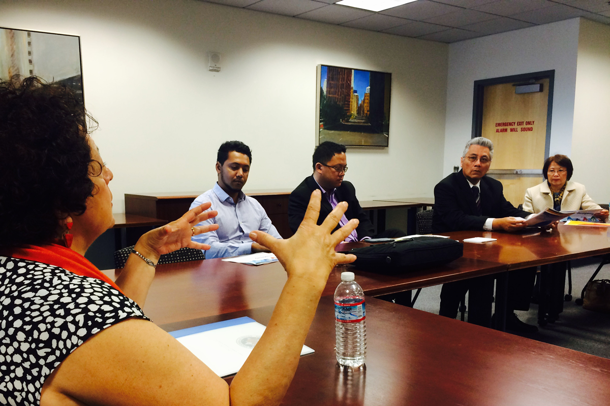 OPM Director Archuleta meets with members of the AAPI community in San Francisco.