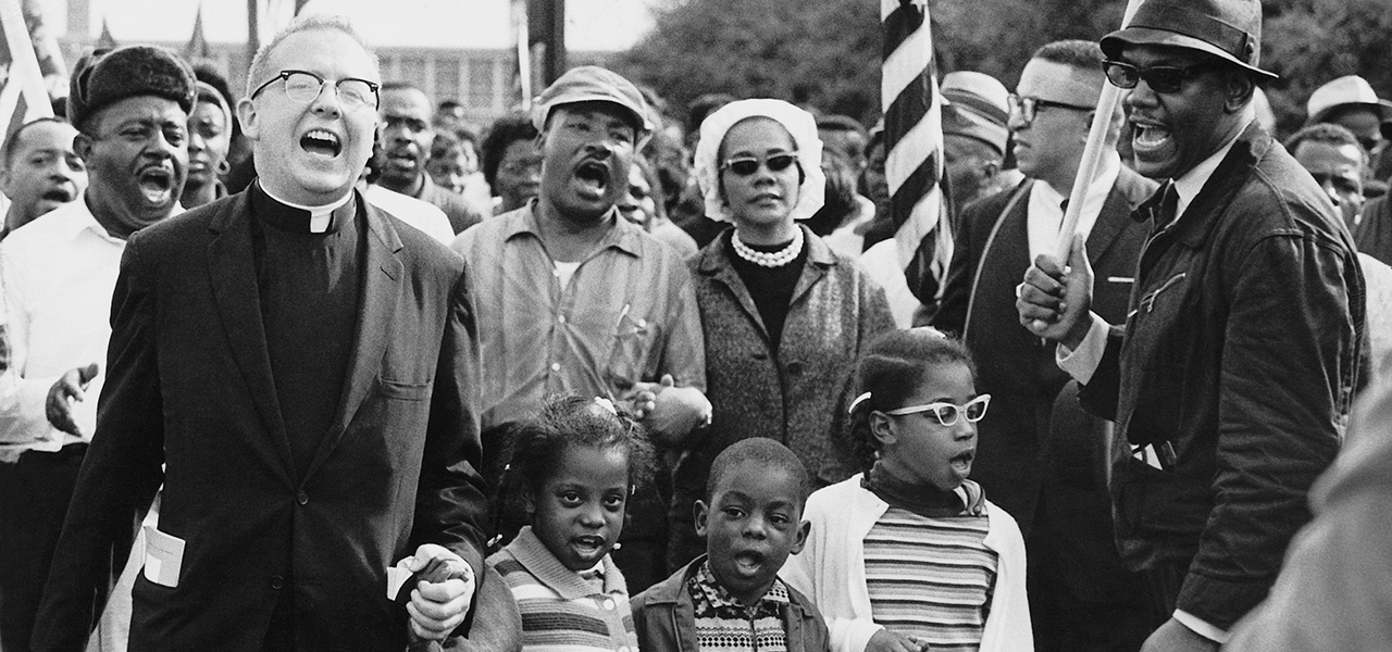 Banner photo from WhiteHouse.gov's page on Selma