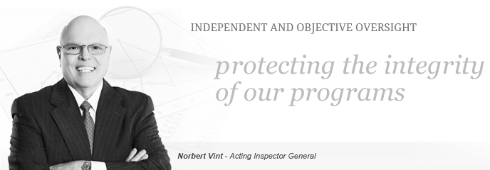 Independent and objective oversight - Protecting the integrity of our programs