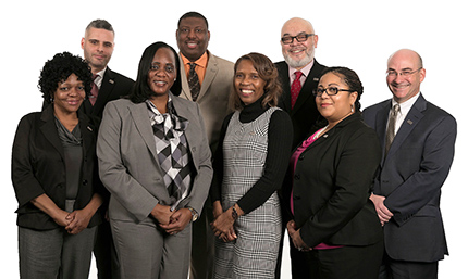 OPM Veterans Services Staff: Zena Burleigh, Jose Lopez, Deloris Mebane, David K. Williams, Kelly Woodall, Hakeem Basheerud-Deen (Director), Berlyn Cooper-Howard, Eric Brown
