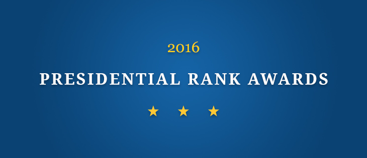 2016 Presidential Rank Awards