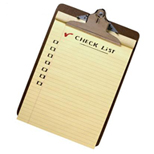 Print a copy of this personalized safety checklist