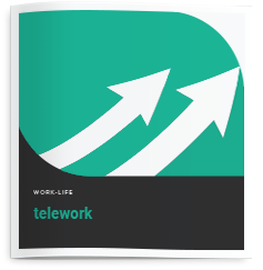 Brochure cover for Telework