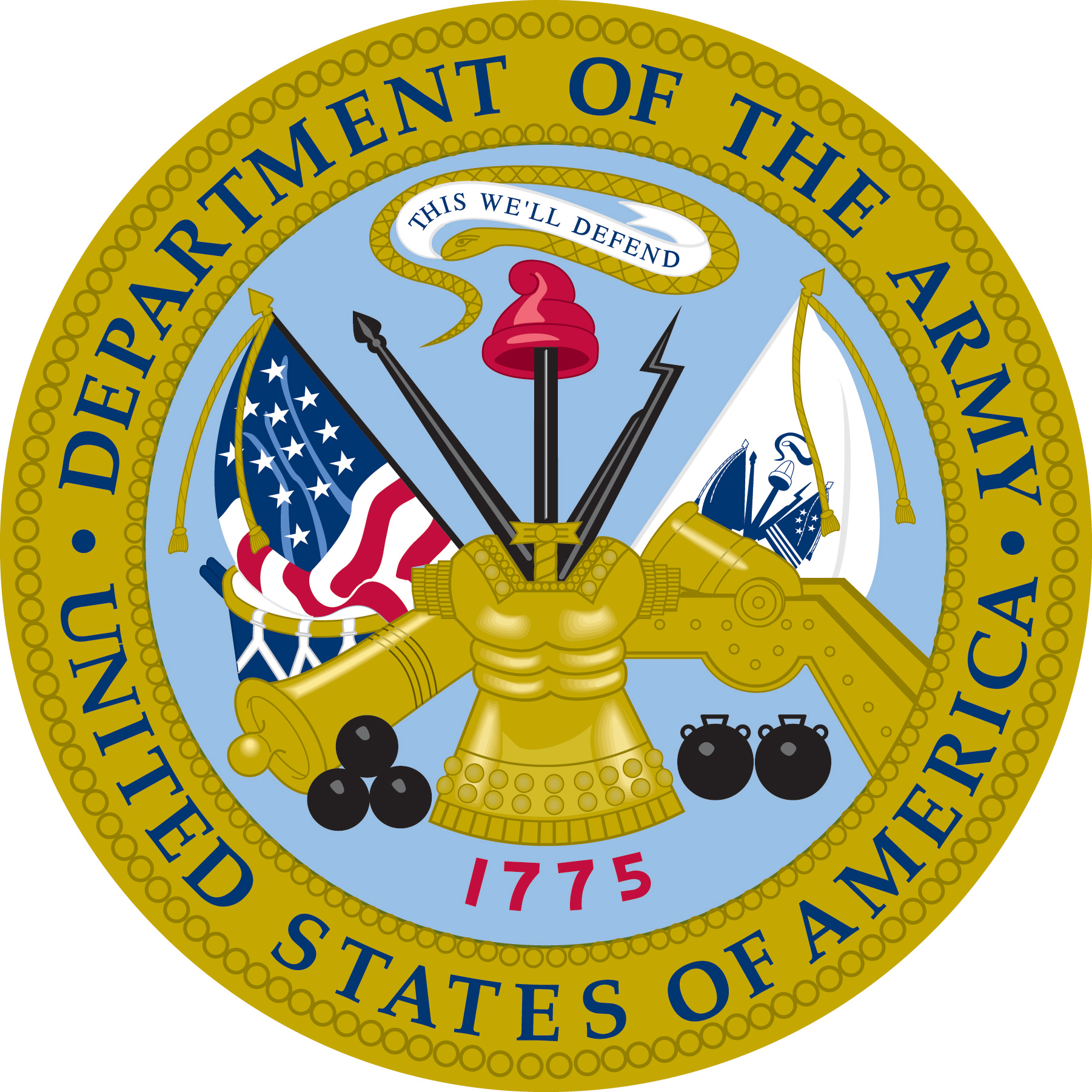 Department of Defense/Department of the Army Logo
