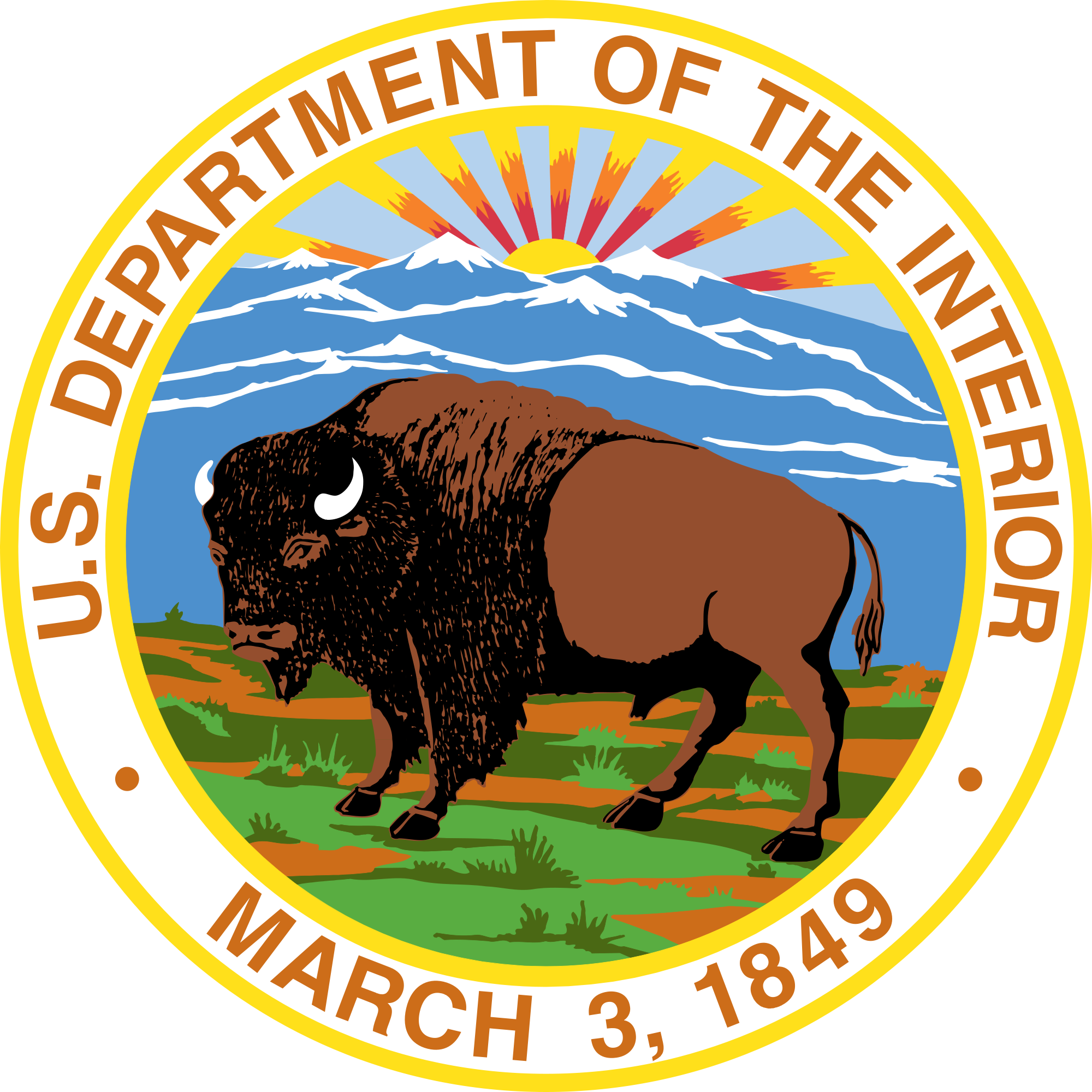 Department of the Interior/Federal Consulting Group Logo