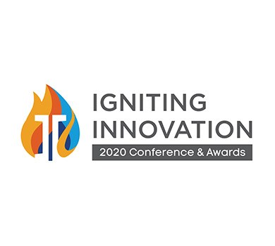 Igniting Innovation 2020 Conference and Awards logo.